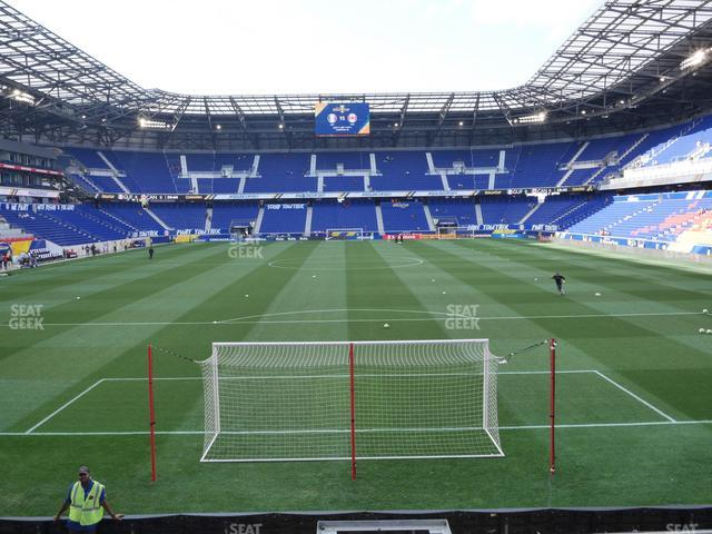 Red Bull Arena Section 101 view