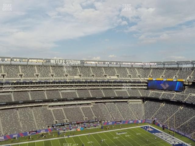 MetLife Stadium Section 341 view