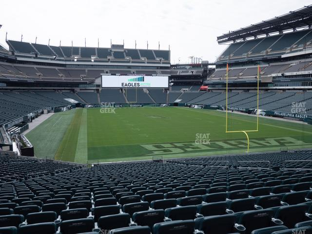 Lincoln Financial Field Section 127 view