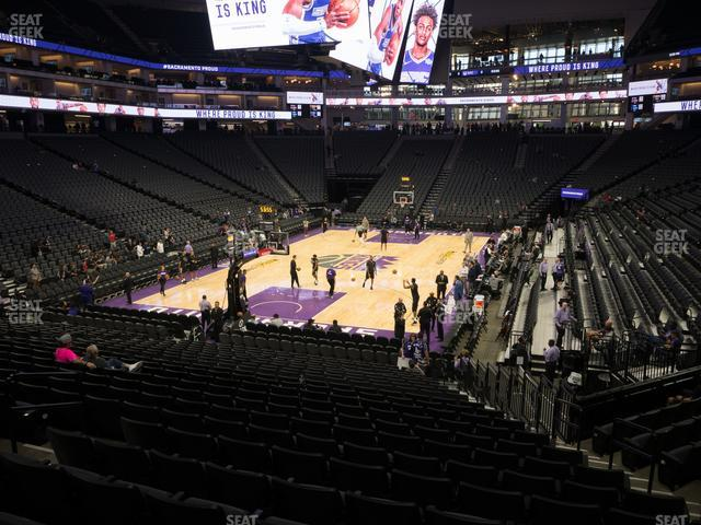 Golden 1 Center Section 112 view