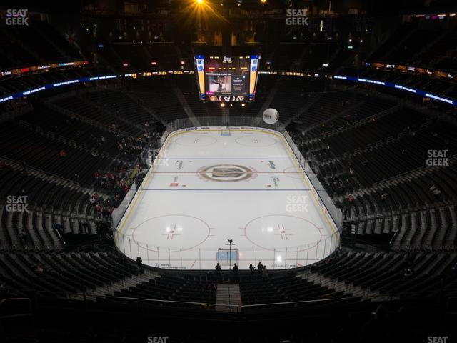 T-Mobile Arena Section 214 view