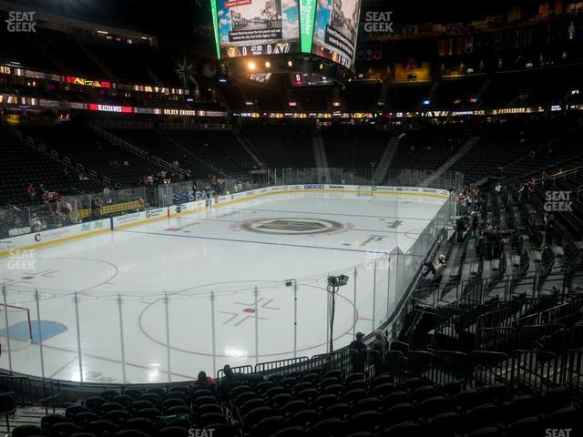 T-Mobile Arena Section 12 view