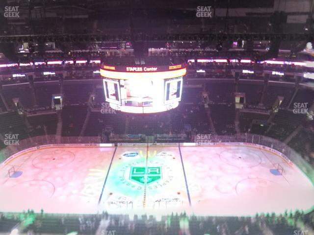 Staples Center Section 318 view