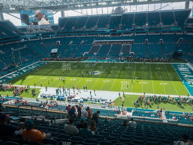 Hard Rock Stadium Section 316 view