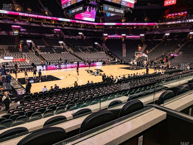 AT&T Center Box 24 A view