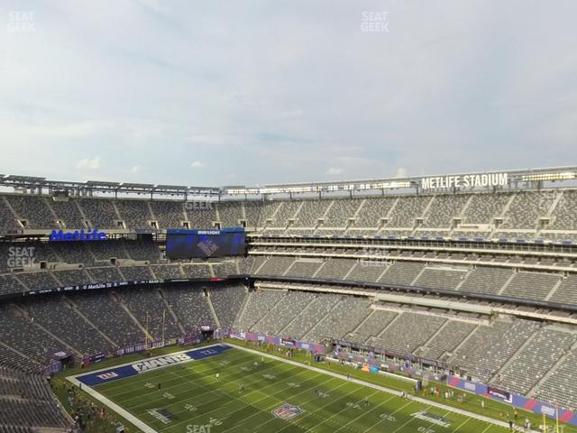 MetLife Stadium Section 333 view