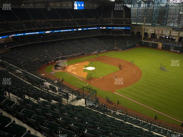 Minute Maid Park Section 430 view