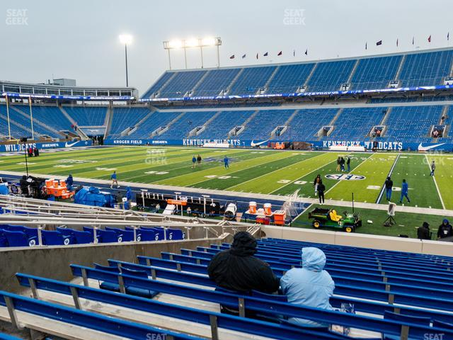 Kroger Field Section 28 view