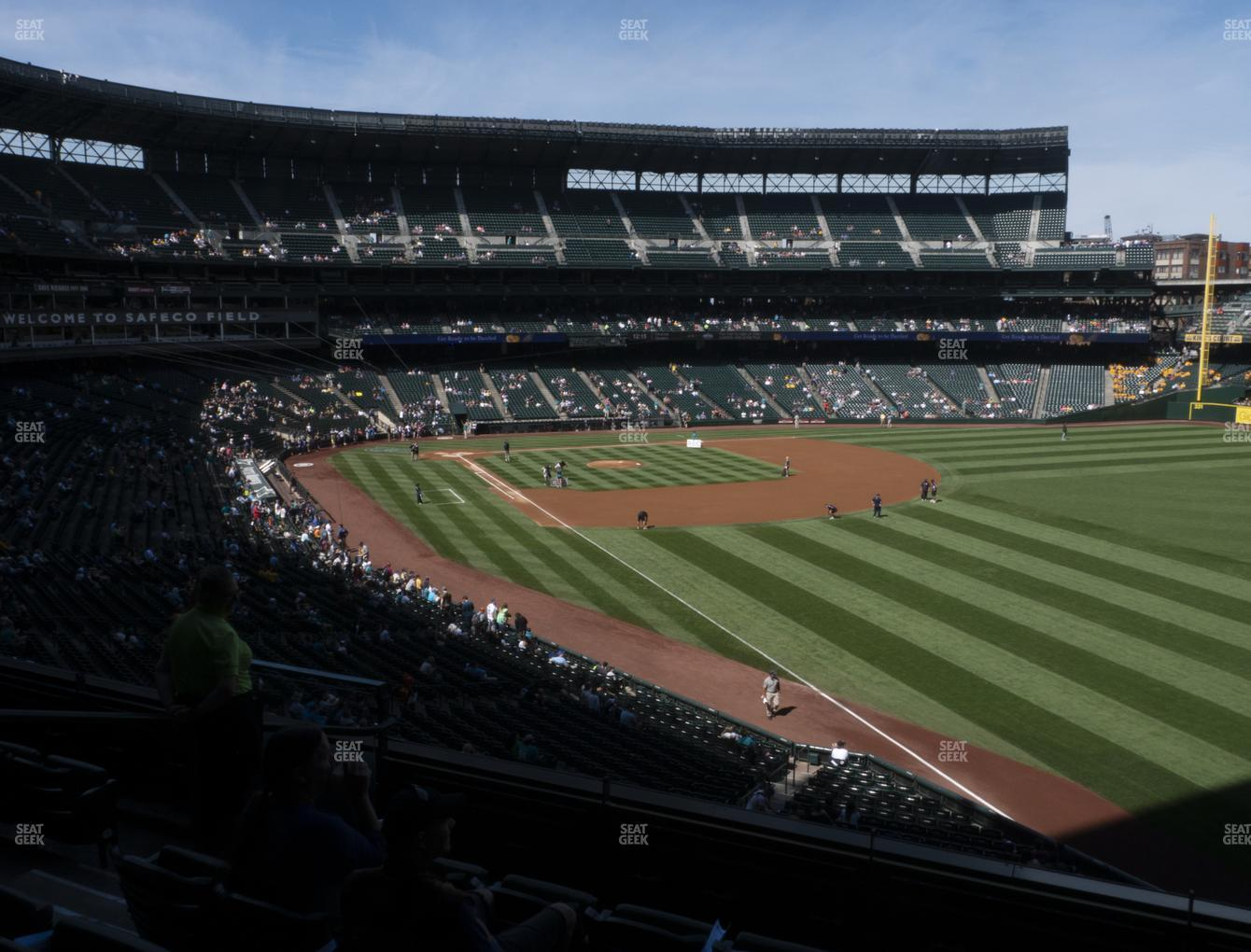 Seattle Mariners at T-Mobile Park Section 211 View