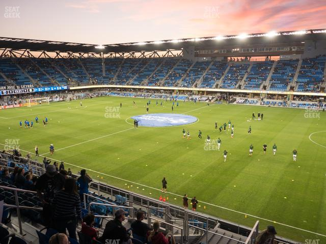 Avaya Stadium Section 133 view