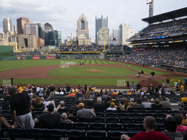 PNC Park Section 121 view