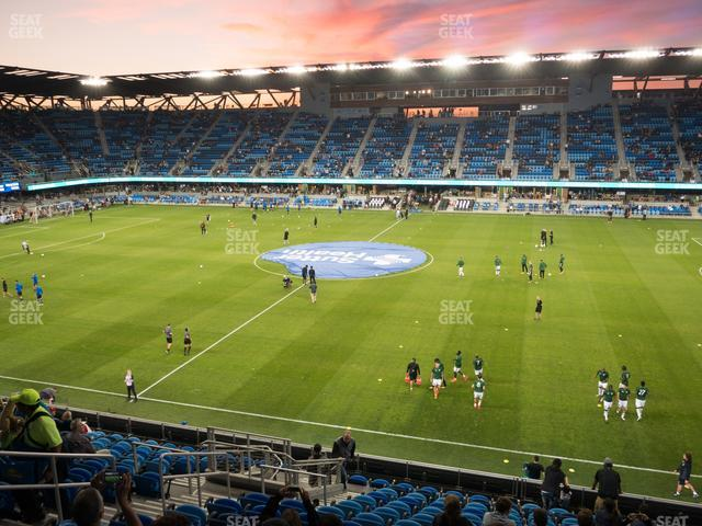 Avaya Stadium Section 131 view