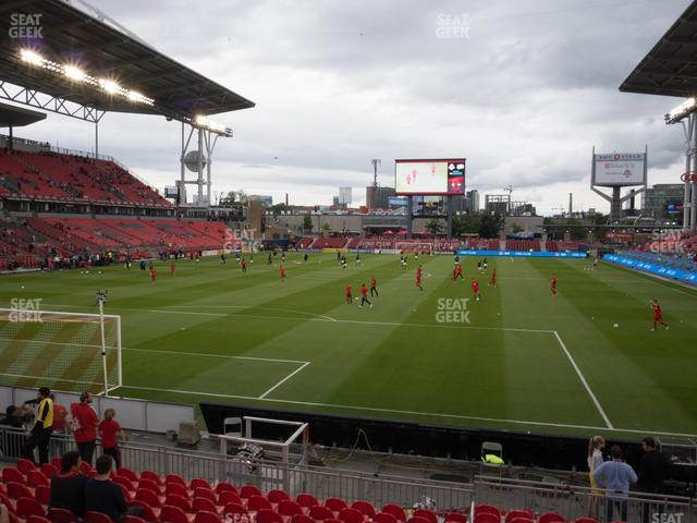 BMO Field Section 114 view
