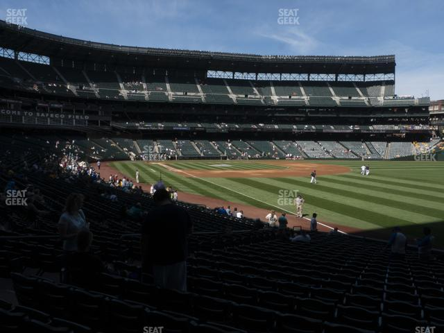 T-Mobile Park Section 112 view