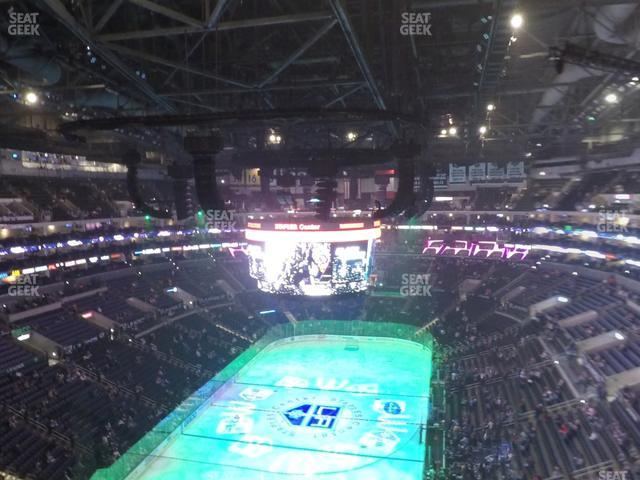 Staples Center Section 308 view