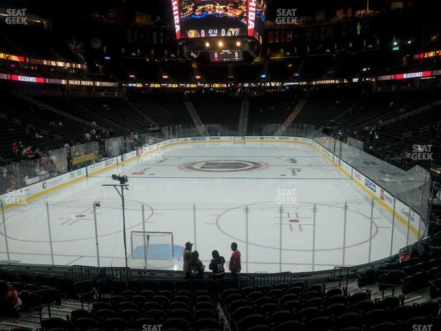 T-Mobile Arena Section 11 view