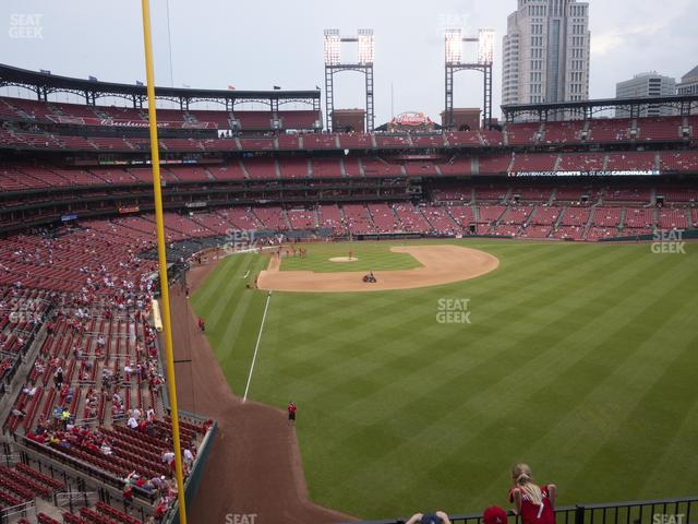 Busch Stadium Right Field Loge 228 view