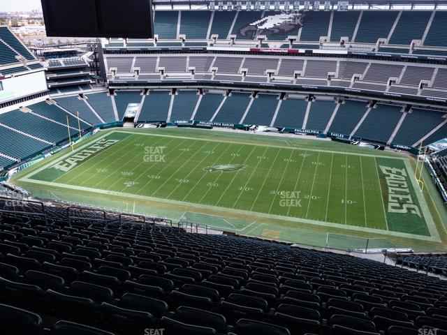 Lincoln Financial Field Section 203 view
