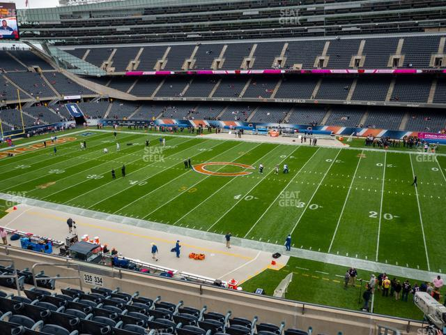 Soldier Field Section 334 view