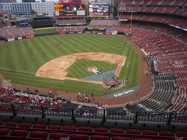 Busch Stadium Infield Terrace 453 view