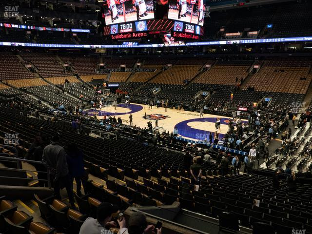Scotiabank Arena Section 117 view