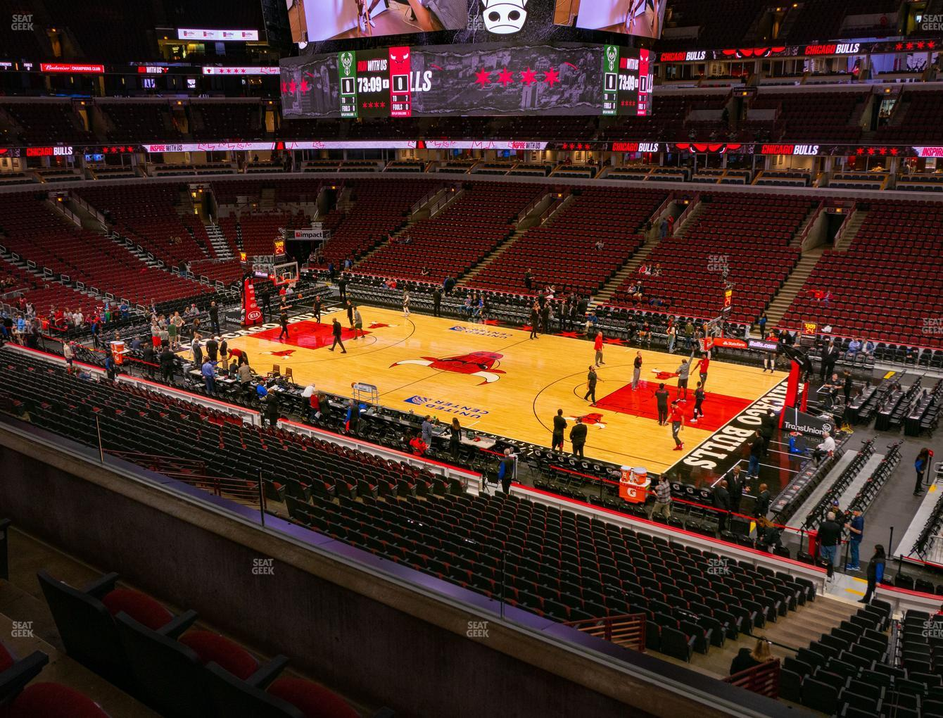 United Center Section 232 Seat Views | SeatGeek