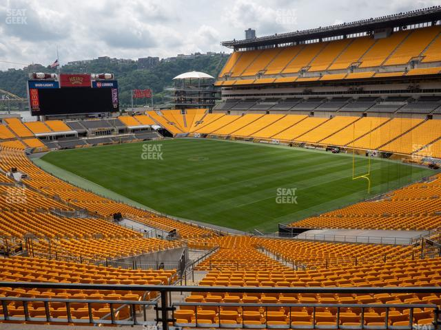 Heinz Field North Club 002 view
