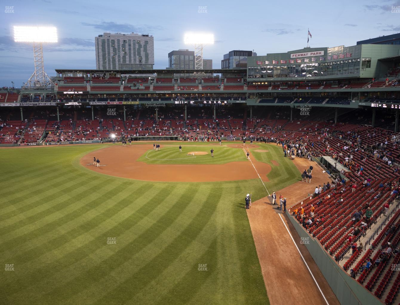 Boston Red Sox at Fenway Park Green Monster 2 View