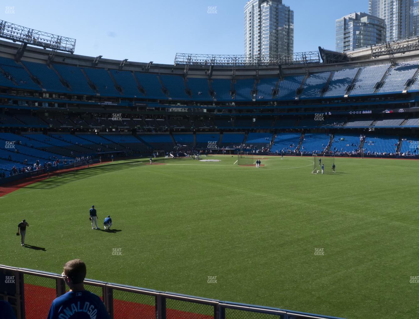 Toronto Blue Jays at Rogers Centre Section 106 L View