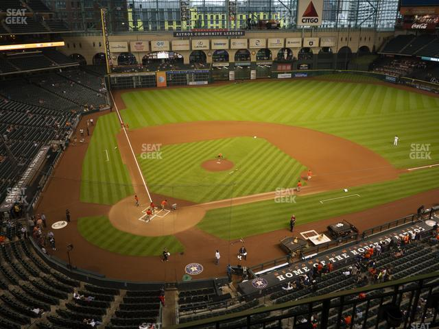 Minute Maid Park Section 322 view
