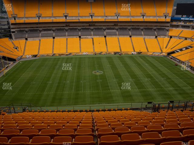 Heinz Field Section 510 view