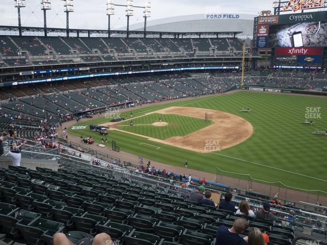 Comerica Park Section 217 view