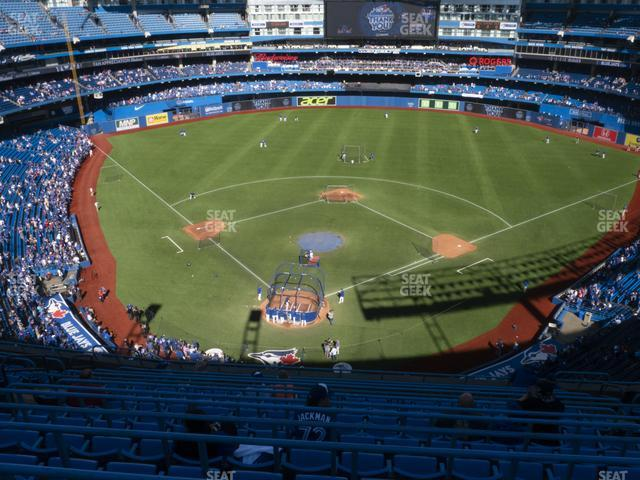 Rogers Centre Section 523 R view