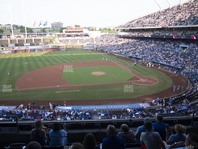 Kauffman Stadium Section 307 view
