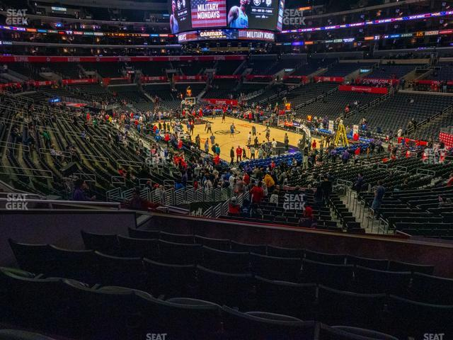 Staples Center Section 219 view