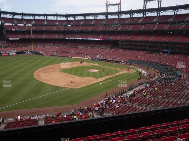 Busch Stadium Third Base Loge 263 view