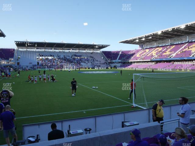 Exploria Stadium Section 6 view