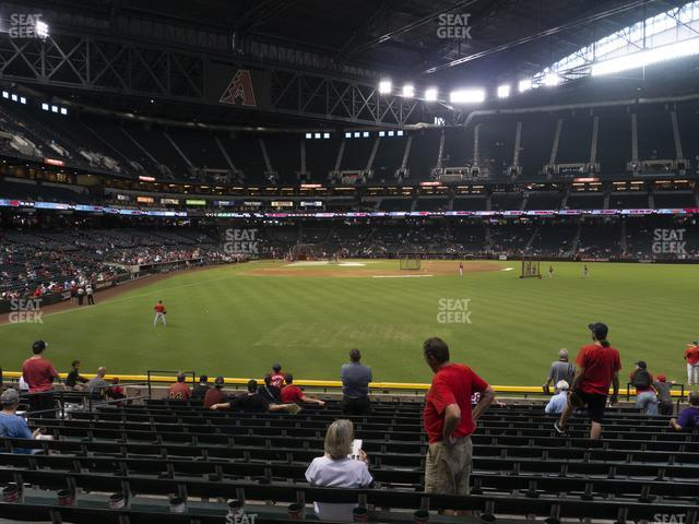 Chase Field Section 103 view