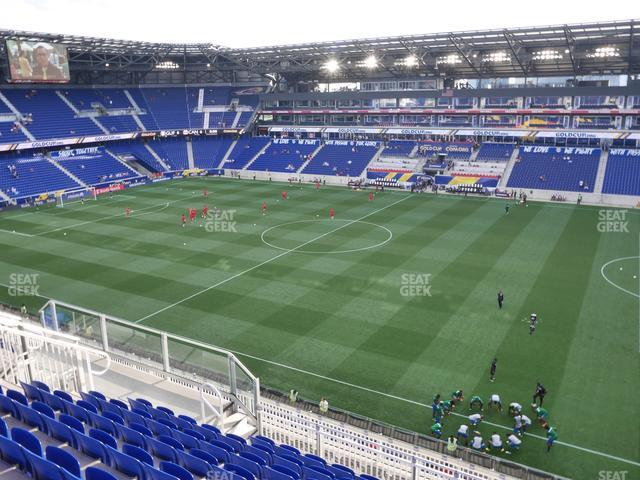 Red Bull Arena Section 224 view
