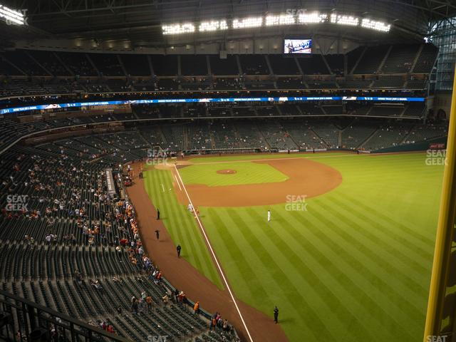 Minute Maid Park Section 336 view
