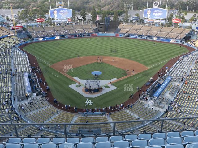 Dodger Stadium Section Top Deck 2 view