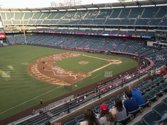 Angel Stadium of Anaheim Section 409 view