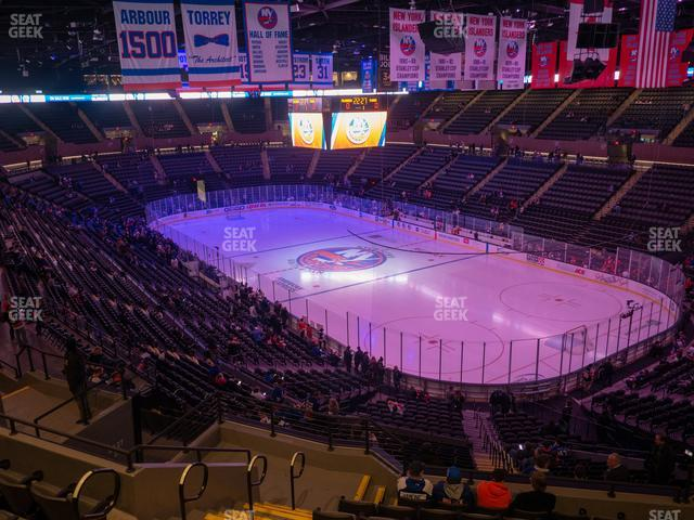Nassau Veterans Memorial Coliseum Section 237 view