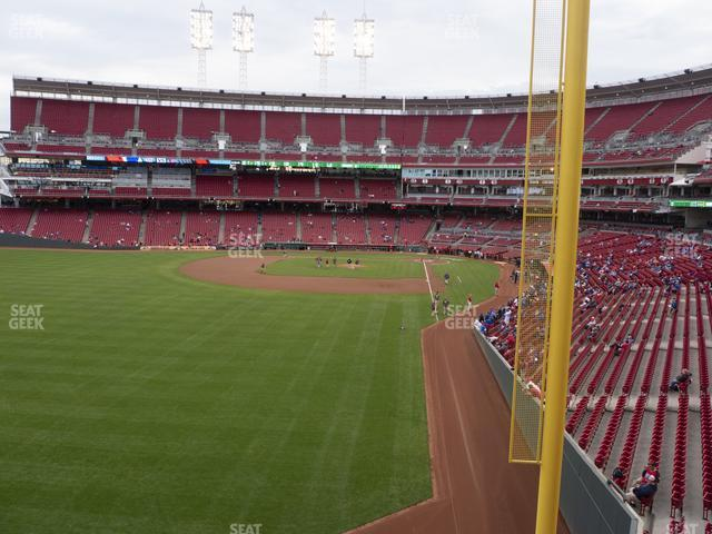 Great American Ball Park Section 406 view