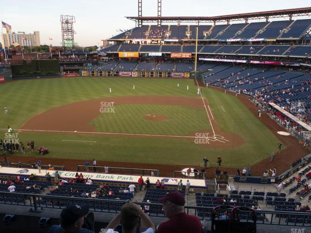 Citizens Bank Park Section 227 view