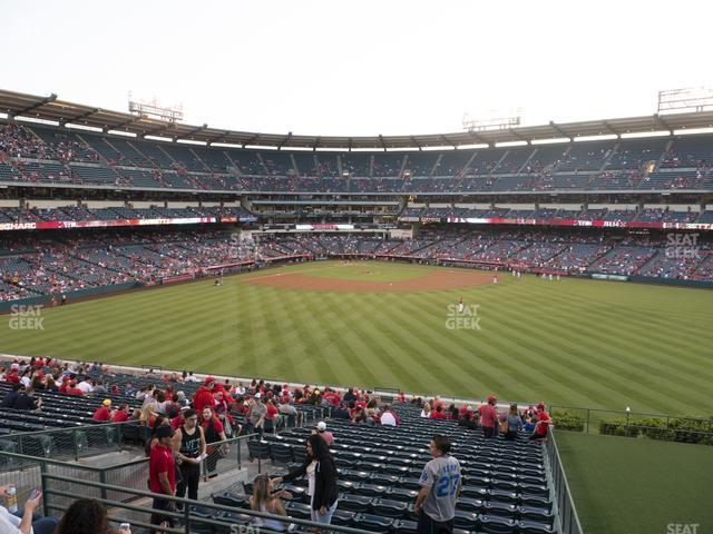 Angel Stadium of Anaheim Section 248 view