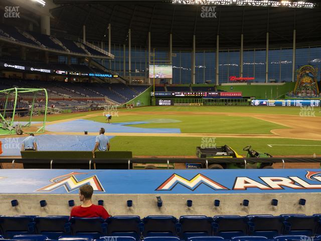 Marlins Park Section 9 view
