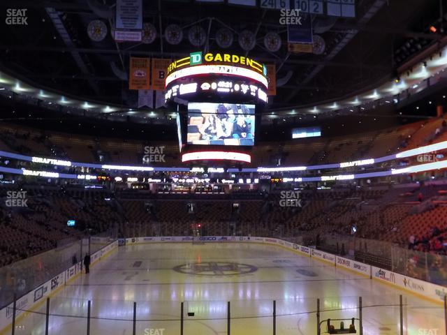 TD Garden Section Loge 7 view