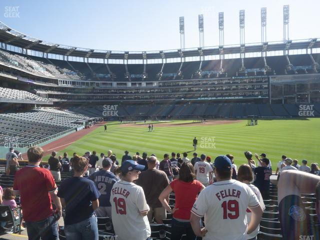 Progressive Field Section 111 view