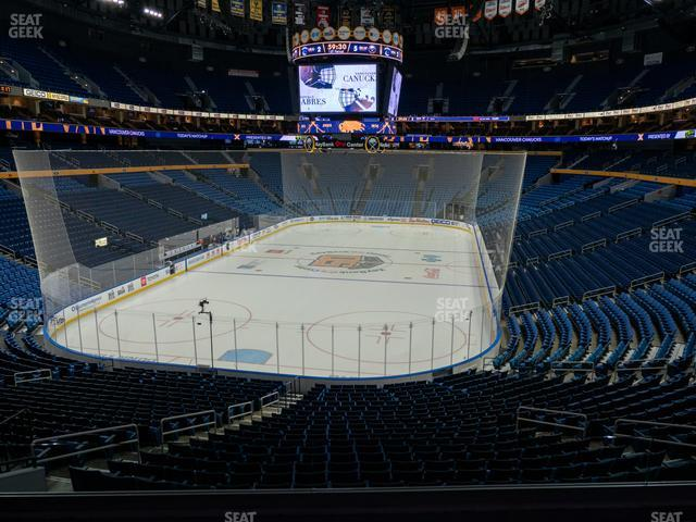 KeyBank Center Section 225 view